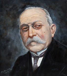 PORTRÉT DR. M. REMEŠE - PORTRAIT OF M. REMEŠ