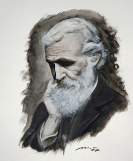 PORTRÉT JOHNA MUIRA - PORTRAIT OF JOHN MUIR